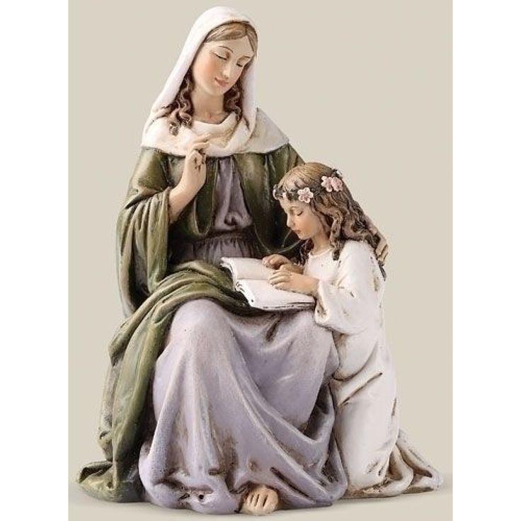 Saint Anne 6inch Figurine by Joseph's Studio - JOSEPH STUDIOS - Religious Figurines - COLLECTABLES