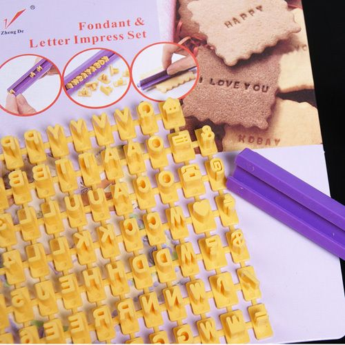 Free shipping Letter and Number Impress DIY Mould Stamp Tools Biscuit Cake Fondant Decorating on AliExpress.com. $4.28