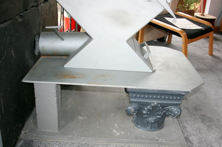 """To quote Steve """"a most unusual installation"""" but we love it, an Anvil with a saddle boiler mounted on cast iron supports - this warranted two photos on our board! Thanks Lorne and Maureen."""