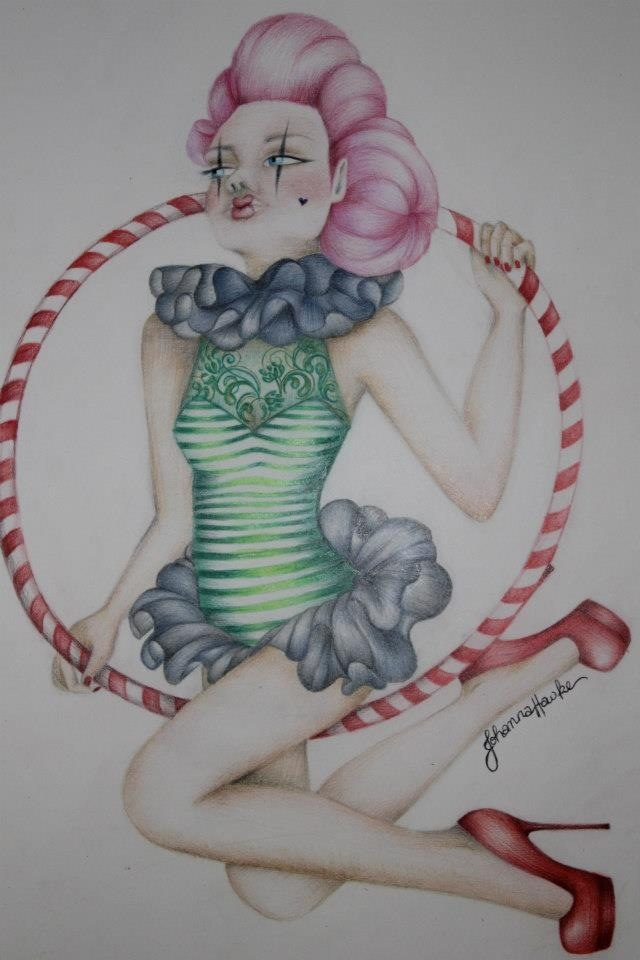 'Cirque' illustration by Johanna Hawke