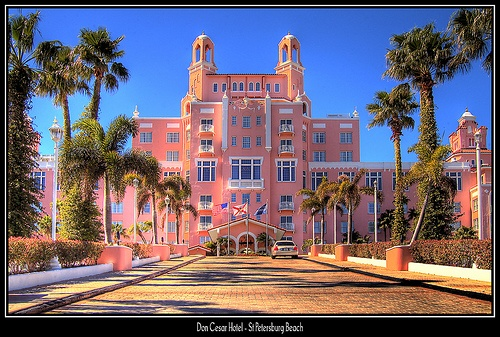 Don Cesar Hotel St Petersburg Fl