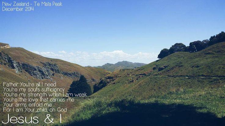 Te Mata Peak - NZ   Jesus & I photography