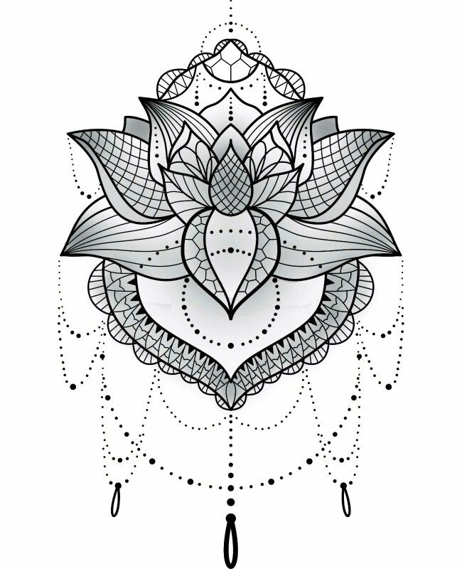 25 Best Ideas About Mandala Tattoo Design On Pinterest: 25+ Best Ideas About Lotus Mandala On Pinterest