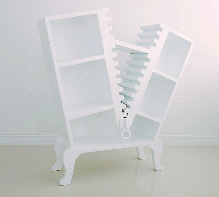 U0027project [zip:per]u0027   Furniture That Looks Un Zipped By · Modern  BookshelfBookshelf ...