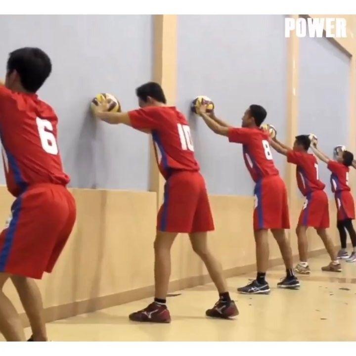 Nice Setter Training Follow Power Volleyball Official Power Volleyball Official For More Power Volleyball Official Fo Volleyball Power Train