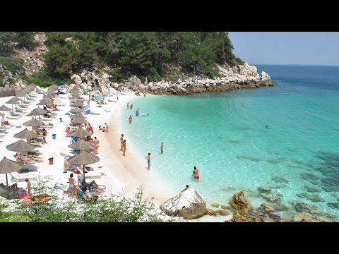 Thasos beach guide - 35 Thasos beaches Greece - YouTube