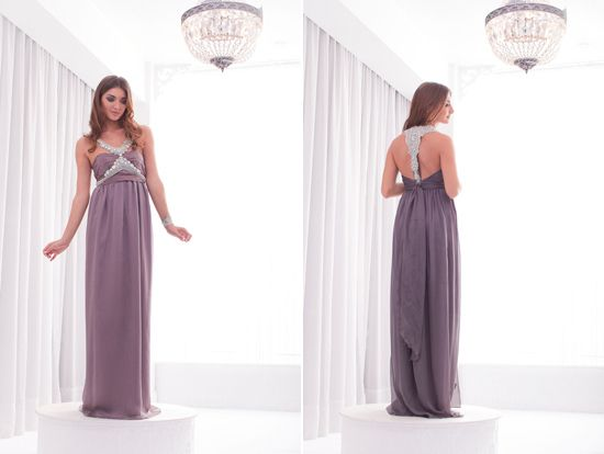 Outfit your bridesmaids in one of these stunning designs from Anna Campbell