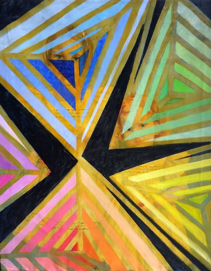 """tracyfeldmanartblog: Breaking Patterns by Making Art Even though my show is up, I am continuing my """"Reclaimed Series"""".  Check out the newest work in this series!"""