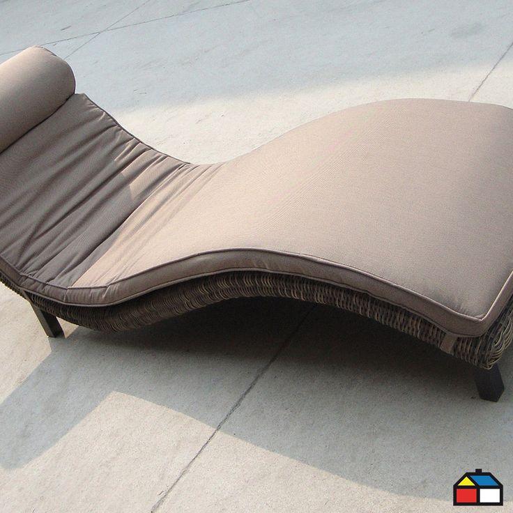 Las reposeras harán que tus ambientes luzcan más modernos y relajados #Terraza
