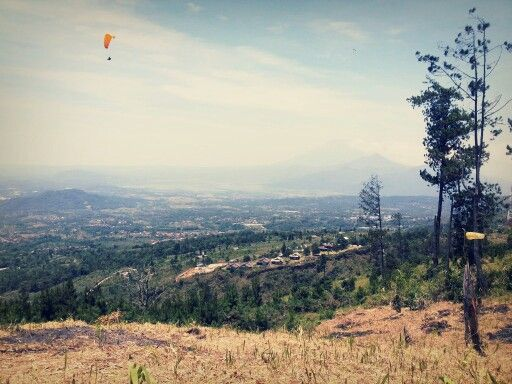 View from spot launching #paragliding #sidomukti #semarang #indonesia