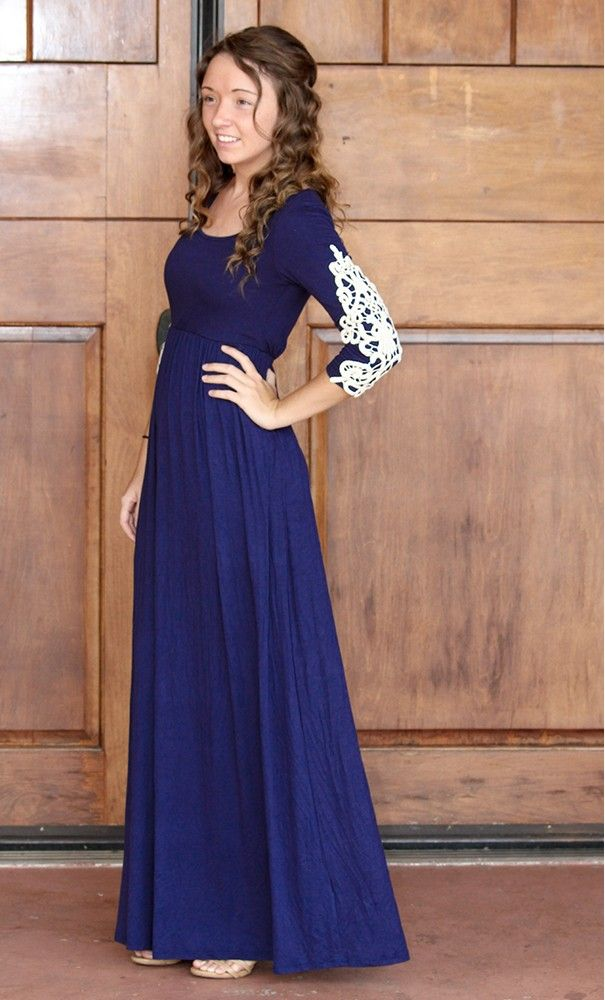Best 25  Navy maxi dresses ideas on Pinterest | Navy maxi, Long ...