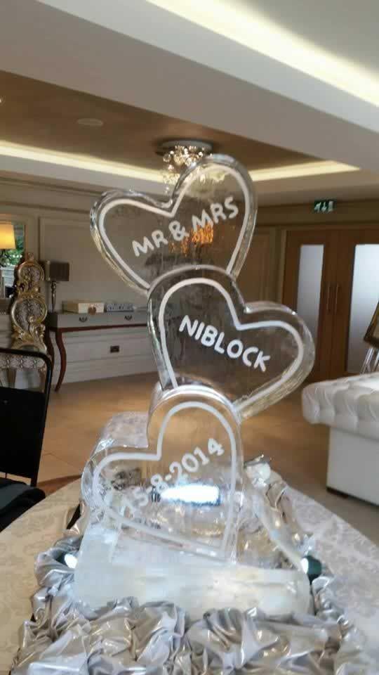 Ice Sculptures Wedding heart - Bing images