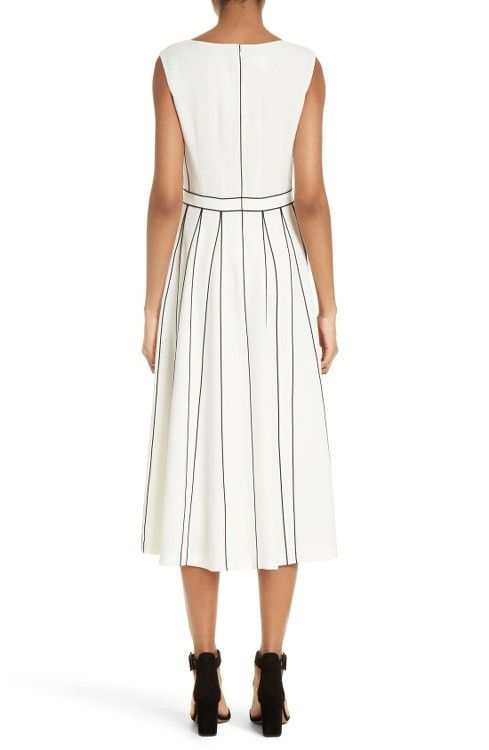 Main Image - Lafayette 148 New York Mariposa Finesse Crepe Dress