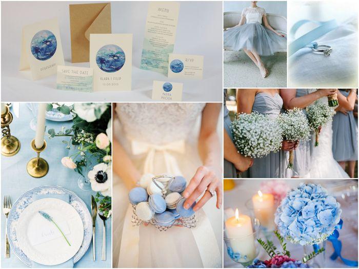 Serenity jako ślubny kolor przewodni | Serenity Wedding inspiration