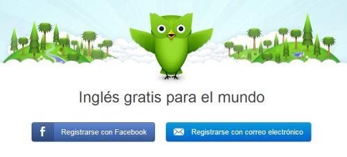 Cursos gratis de inglés, francés, alemán, portugués e italiano en Duolingo