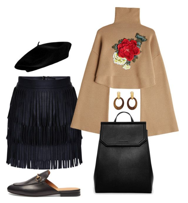 """Uptown Casual"" by raiynel on Polyvore featuring Gucci, William Fan, CHARLES & KEITH and Goossens"