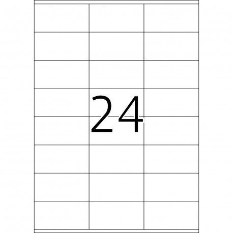 Prezzi e Sconti: #Herma 4633 rettangolo permanente bianco Herma  ad Euro 44.71 in #Herma #Home casa e ufficio ufficio