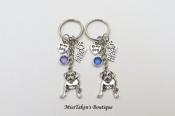 Doggy+Charm+Keychain  Perfect+Accessory+to+hang+on+a+purse,+car+rear+view+mirror+or+keys! + Comes+with+4+charms+-+dog+person+charm,+<3+my+dog+charm,+dog+charm,+acrylic+gemstone  Other+gem+colors+available:+Yellow,+Dark+purple,+Aqua,+Clear,+Green,+Light+Blue,+Red,+Light+Orange,+Navy,+Orange,...