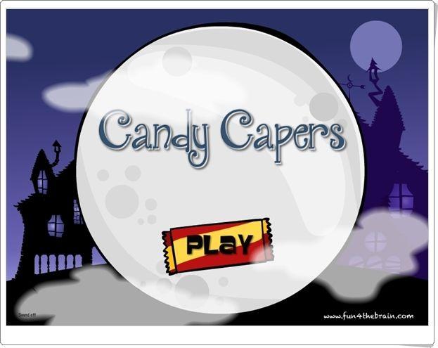 """""""Candy Capers"""" (Juego de Resta hasta 20)"""