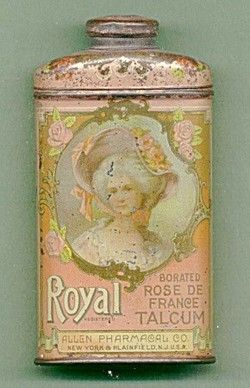 Vintage Talcum powder