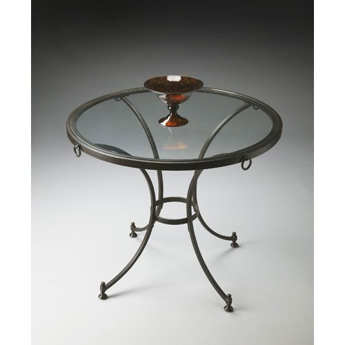 Buy Antiqued Glass Coffee Table Gun Metal Base At Fusion: 65 Best Accent Tables Images On Pinterest