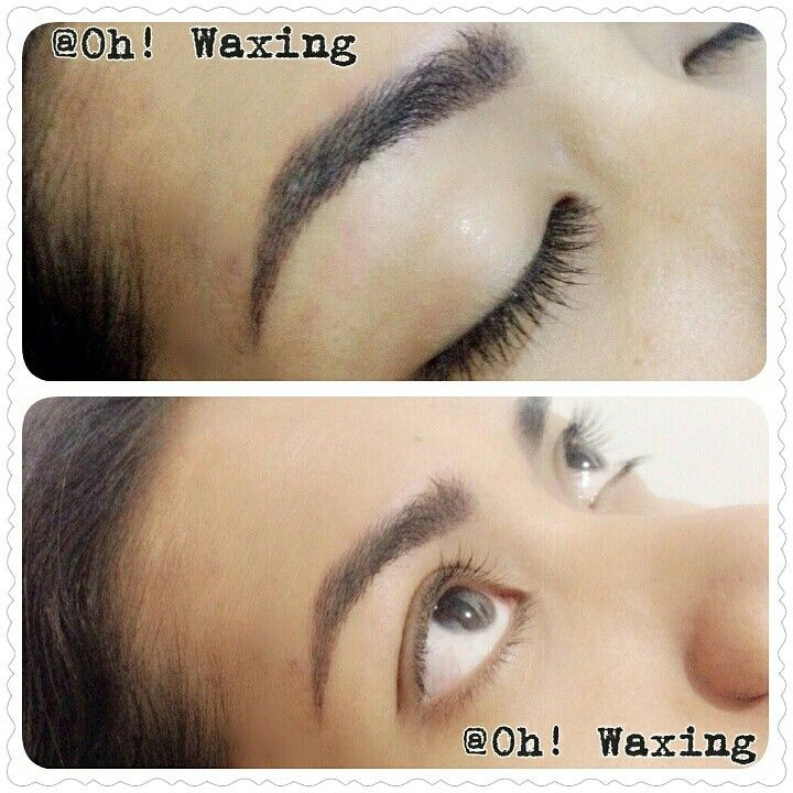 Natural look eyebrow embroidery by Teresia Hilda @Oh! Waxing. Jakarta, Indonesia.  Follow my work on my instagram @OH_WAXING