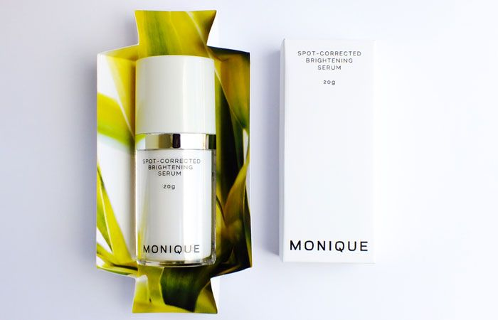 MONIQUE - Skincare packaging intuitively opens up to reveal a beautiful oasis of color. Skincare companies have such wonderful packaging. Beautiful skin, beautiful packaging.
