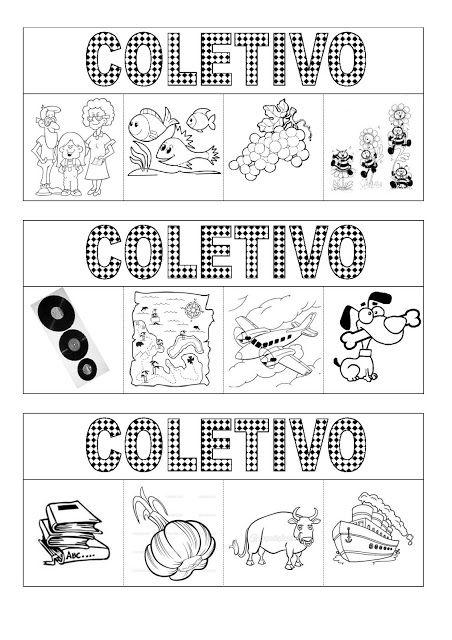 Atividade interativa: substantivo coletivo - Atividades Adriana