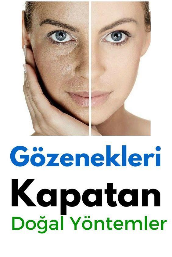 Yüzünüzdeki gözeneklerin sıkılaşıp kapanmasını sağlayacak 10 doğal yöntem.