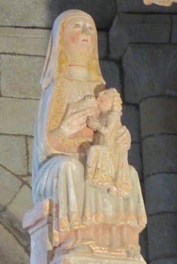 Virgen de la leche. siglo XIII