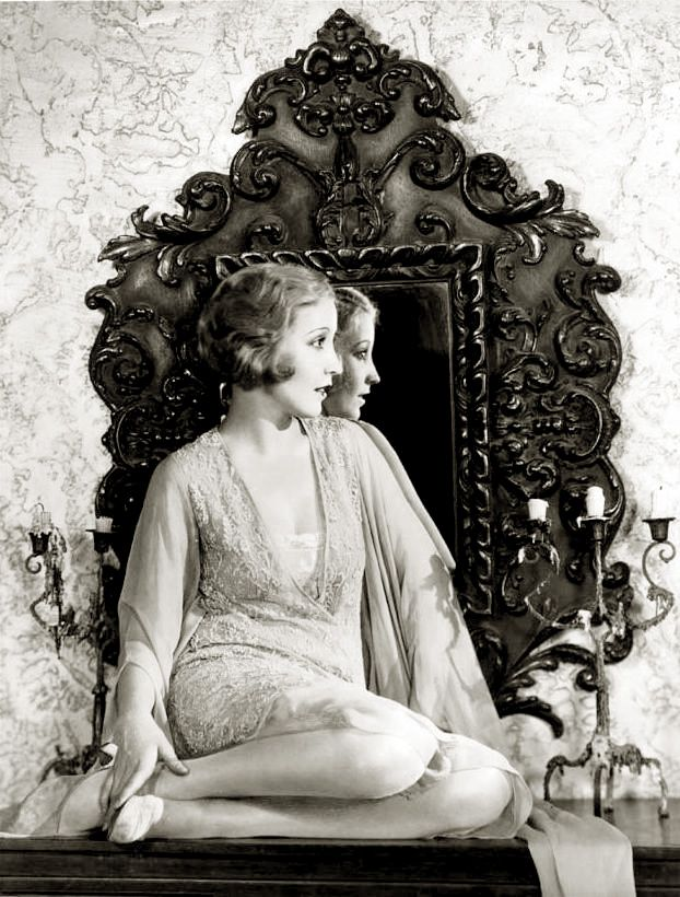 silent film actress, Bessie Love
