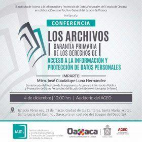 IAIP y AGEO promueven importancia de los archivos en la protección del derecho a la información