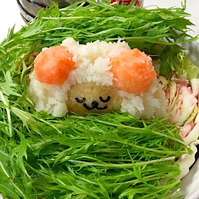 可愛いひつじちゃんがグツグツ煮えてくると…きゃぁー(笑) - 17件のもぐもぐ - 大根おろし鍋 ひつじちゃん✨ by mofmof9