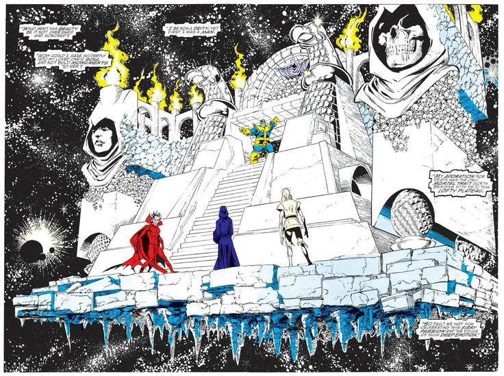 George Perez, Infinity Gauntlet #1