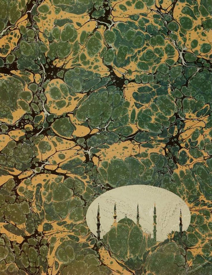 Alparslan Babaoğlu'nun ebru eseri. #ebru #alparslanbabaoğlu #art #artist #karinsanat #fineart #ottoman #ottomanart