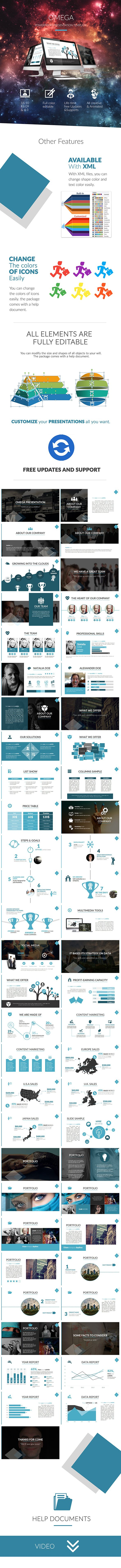 Omega Powerpoint Template (PowerPoint Templates)