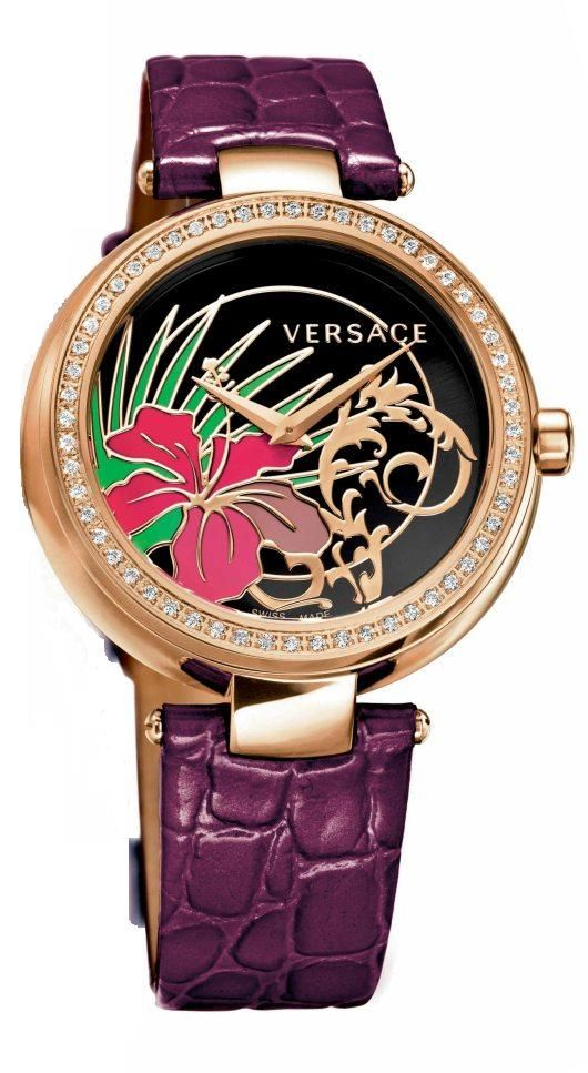 Versace Mystique Hibiscus Introduced at Baselworld 2012