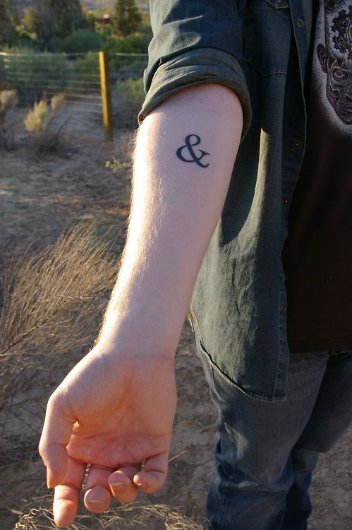 literary tattoos | Tumblr Arg! Makes me want to get my ampersand tattoo so bad!