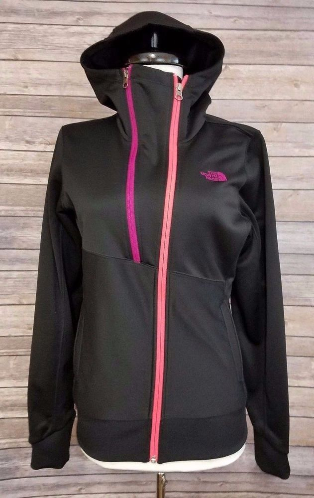 bf15352dd The North Face Women's Thatch Hoodie Technical Jacket sz Small Black ...