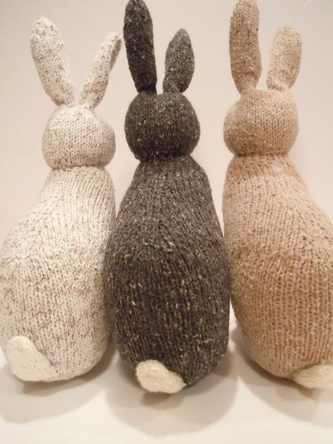 54 best knitting patterns for easter images on pinterest spring rabbit negle Gallery
