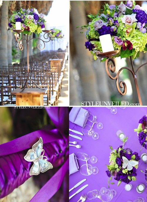 gorgeous butterfly wedding decorations
