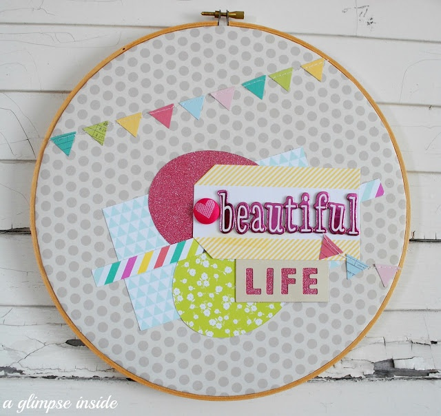 Embroidery hoop alternative makaroka