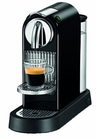 if you love good strong espresso coffee.  Probably the most appreciated coffe in the world is made with Nespresso Coffe machine. Not only the coffe is excellent $239.99but the coffe make is nice and can take a good part of the decoration in your kitchen.