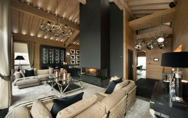 Un chalet de luxe à louer dans la station de ski VIP française