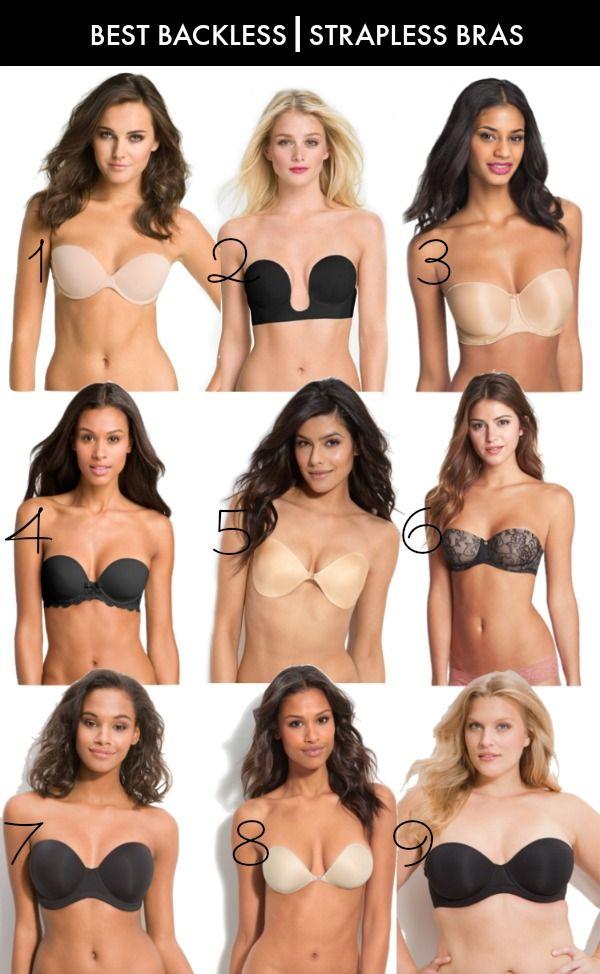Best backless/strapless bras for Spring/Summer Styles