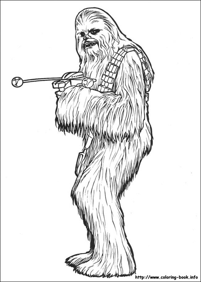 We Have Selected The Most Popular Coloring Pages Like Chewbacca Page For You Do To Color Online Enjoy This
