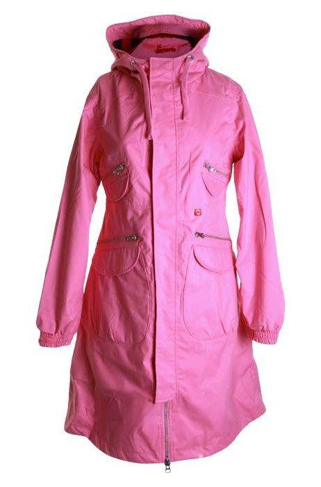 Danefæ - frakke - Terry - Candy pink fra Danefæ