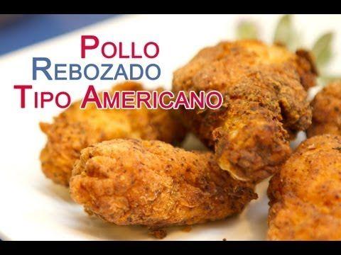 Pollo Rebozado al Estilo Americano