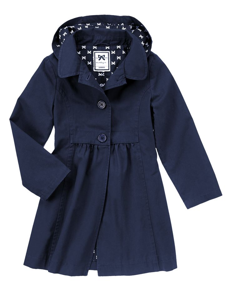 Both my daughter and I would love for her to have this hooded rain coat for fall/spring weather!