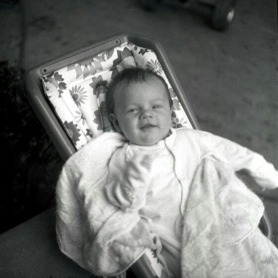 Baby Leonardo Dicaprio